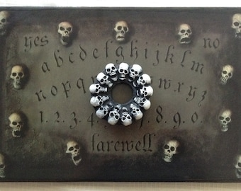 """Ouija board / Spirit board / """"Ashes to Ashes"""""""