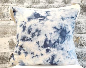 Shibori Pillow Cover - Galaxy in Ink