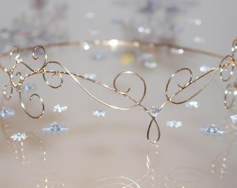 Gold Wire Elfin Circlet