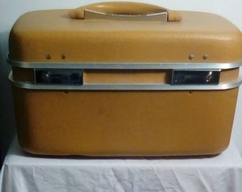 Vintage Train / Travel Case
