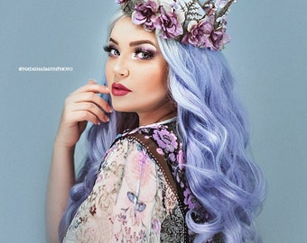 Lavender Fairy Crown