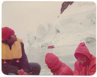 Antarctic Expedition 2 abstract color vintage photo photography social realism found snapshot Lindblad Expedition