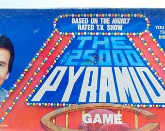 1980s, Vintage Games, Board Games, Board Game Decor, Pyramid, 25,000 Pyramid, Dick Clark, Cardinal, Vintage Board Game, Tv Show