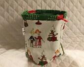 The Grinch Christmas Sock Sack Ready to Ship