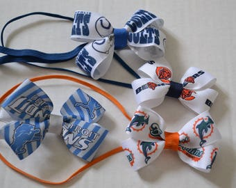 SALE Choose Your Favorite Team Headband Colts Dolphins SALE