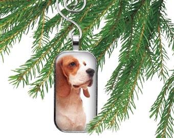 Beagle Christmas Tree Dog Ornament