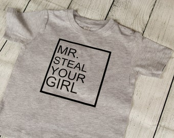 Mr. Steal Your Girl Childrens Kids Youth Toddler Tee T Shirt