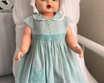 Baby Girl Gingham Dress 6-9 mos.