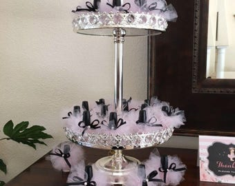 10 Tutus 13.50 & FREE domestic SHIPPING /with Rhinestones or bead/ Engagement/Gender reavealing party favors/Baby shower /Weddings