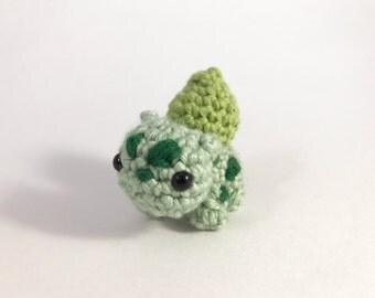 Bulbasaur from Pokemon Amigurumi Kawaii Keychain Miniature Doll