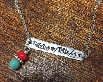Raising my Tribe Necklace