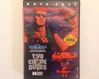 Two Crude Dudes Sega Genesis
