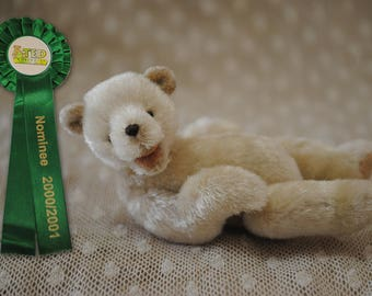 Koyuki,replica,miniature teddy bear artist by Little Bear