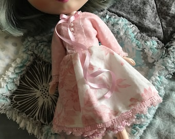 Sale Pink dress and bloomers for Blythe