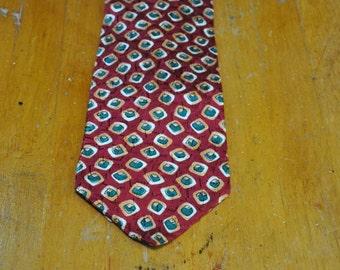 Authentic Ermenigildo Zegna Silk Tie