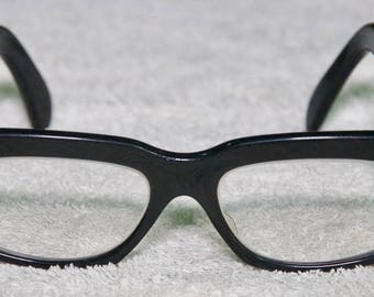 Vintage Black 1950's Rx Glasses