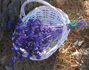 Purple Colored Dried Oregano Flowers***Select Flowers on Strong Stems***Garden Grown***Lovely Addition to Wedding Bouquets, Home Decorations