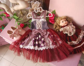 Plum and Rouge baby girl dress