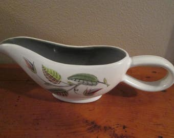 Denby Stoneware Spring Pattern Hand Painted Signed A. Collage