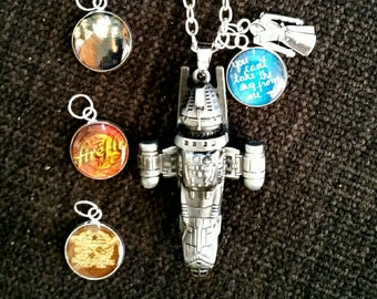 Firefly Serenity 3D Pendant + charms
