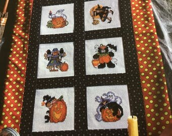 HALLOWEEN- LI'L GOBLINS - Quilt/Cross Stitch Pattern Only