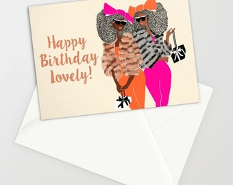 Faux Fur Birthday Lovelies