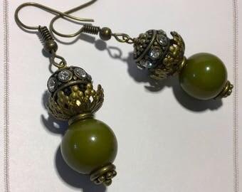 Bohemian drop Earrings -  Summer Earrings - Zen Earrings - Bohemian Earrings - Hippie Earrings - Gypsy Earrings