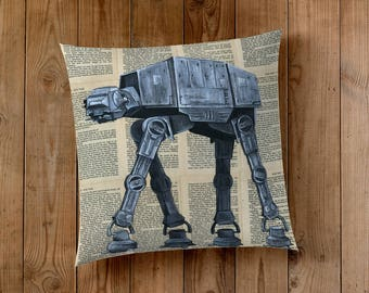 Decorative Pillow of an AT-AT from Star Wars
