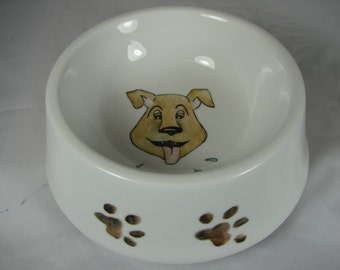 Pet bowl dog water/food bowl