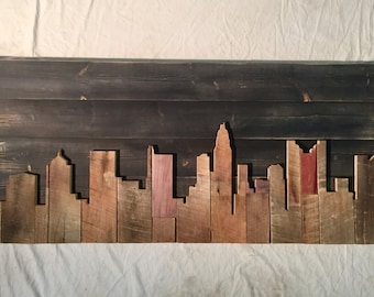 "Hand Crafted Columbus 48"" Skyline"