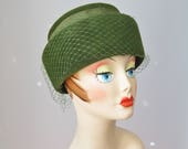 Green Hat / Vtg 50s / For...