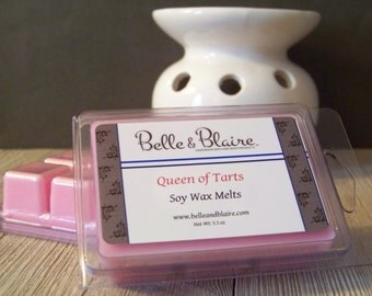 Queen of Tarts- Soy Melts- Scented Wax Melts- Soy Tarts