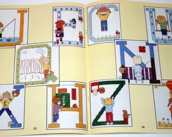 Charted Alphabets for Boys and Girls #152 by Cirssinger 1979