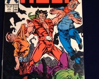 vintage 1987 incredible hulk #330 marvel comic book todd mcfarlane vf+