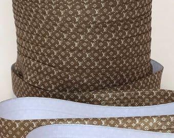"5/8"" FOE Fold Over Elastic Louis Vuitton"