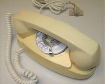 Litton BTS Princess Rotary Desktop Telephone 1970's retro style