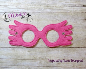 Luna Lovegood Inspired Childrens Dress Up Mask
