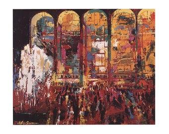 Leroy Neiman-Metropolitan Opera-1980 Poster