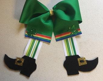 St. Patty's Leprechaun Bow