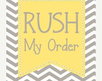 20% OFF Entire Shop RUSH listing Add On Listing