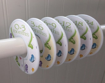 Baby Closet Dividers Clothes Dividers Organizers Closet Dividers Girl Baby Shower Gift Butterflies