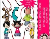 Jumping Rope clip art
