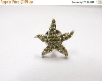 On Sale SWAROVSKI Crystal Starfish Tac Pin Item K # 2196
