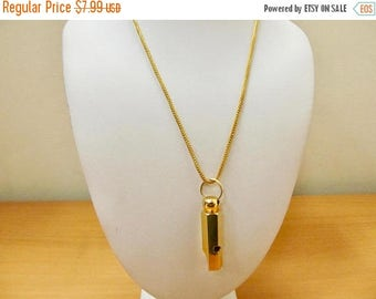 On Sale Vintage Whistle Necklace Item K # 2211