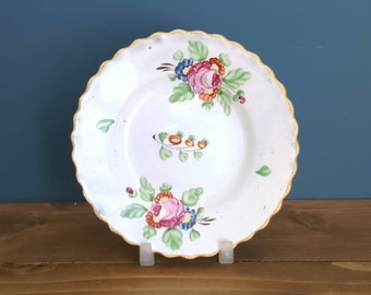 Pearlware Toy Tea Plate c1820