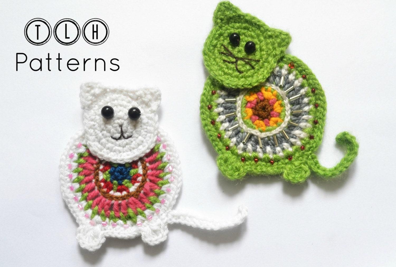 Crochet applique pattern crochet cat applique pattern no 62 from crochet applique pattern crochet cat applique pattern no 62 dt1010fo