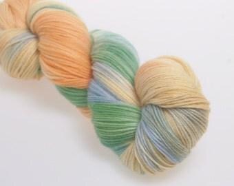 Hand dyed Yarn 'Kachina' -   Superwash Merino  Hand dyed yarn,