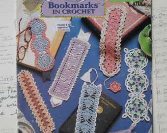 Annies Attic Beautiful Bookmarks Vintage Thread Crochet Pattern Book