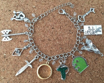 Lord of the Rings inspired charm bracelet