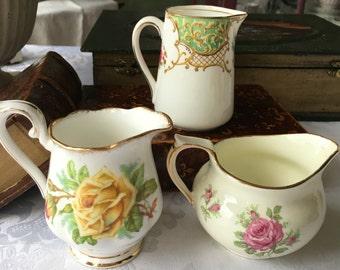 English Creamer Set